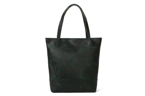 Image of Handmade Vegetable Tanned Leather Tote Bag, Women's Designer Handbags, Lady Shoulder Bags 15010