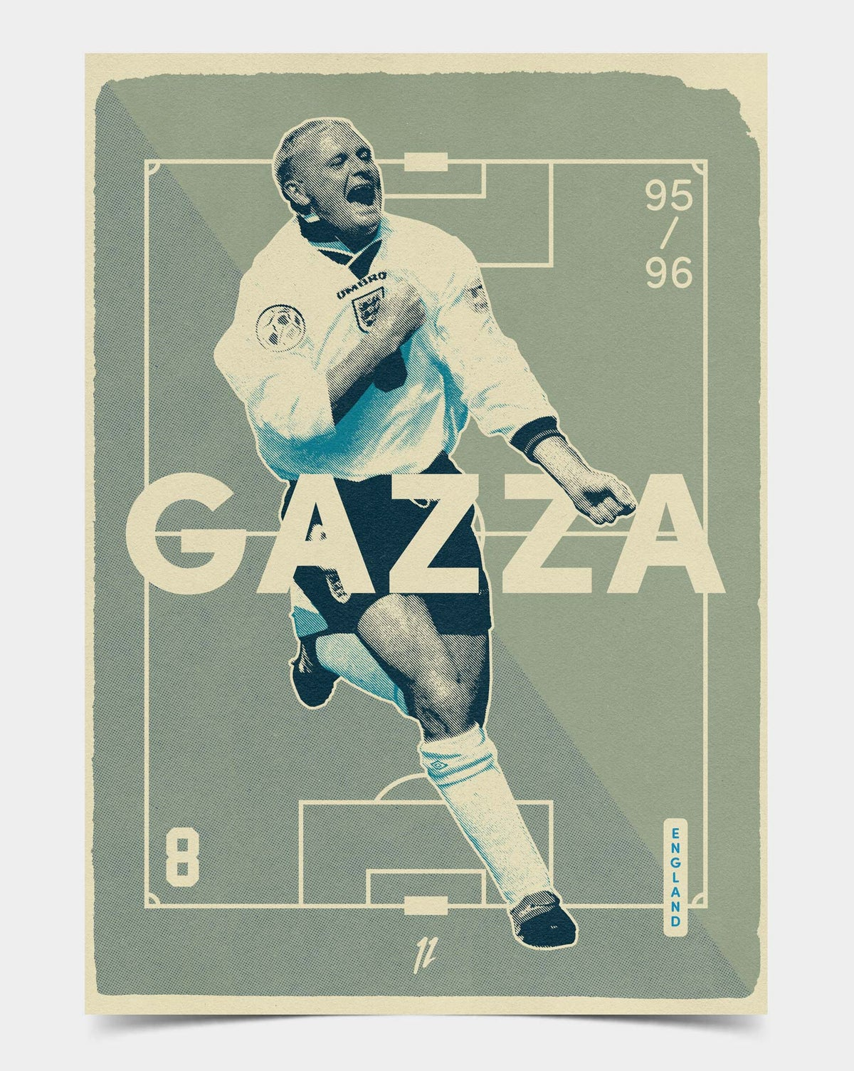 Image of Gazza Retro