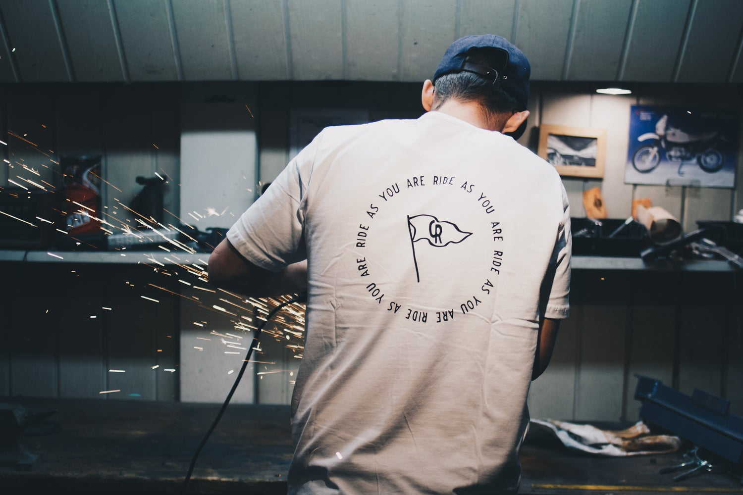 Image of CRAFTRAD Ride as you are T-Shirt