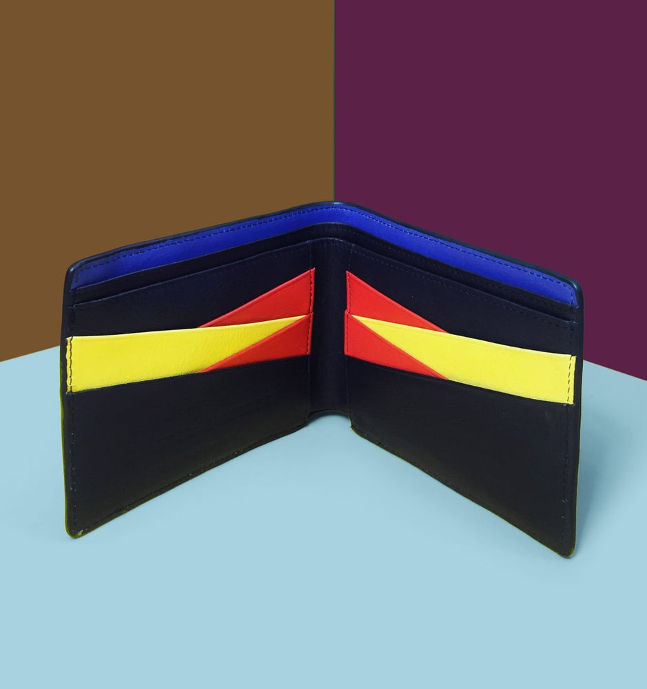 Image of BILLFOLD WALLET - Bauhaus