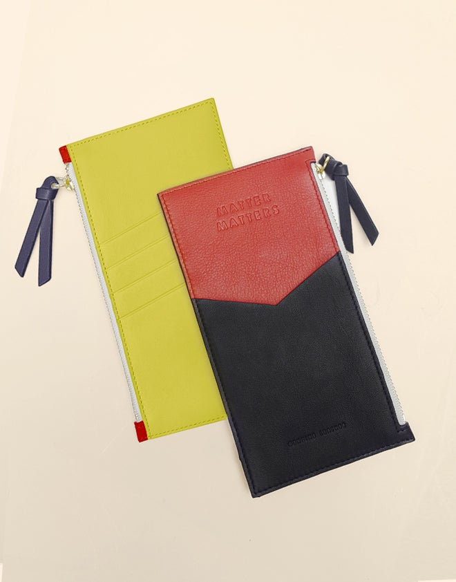Image of Mini Zipped Pouch - Bauhaus