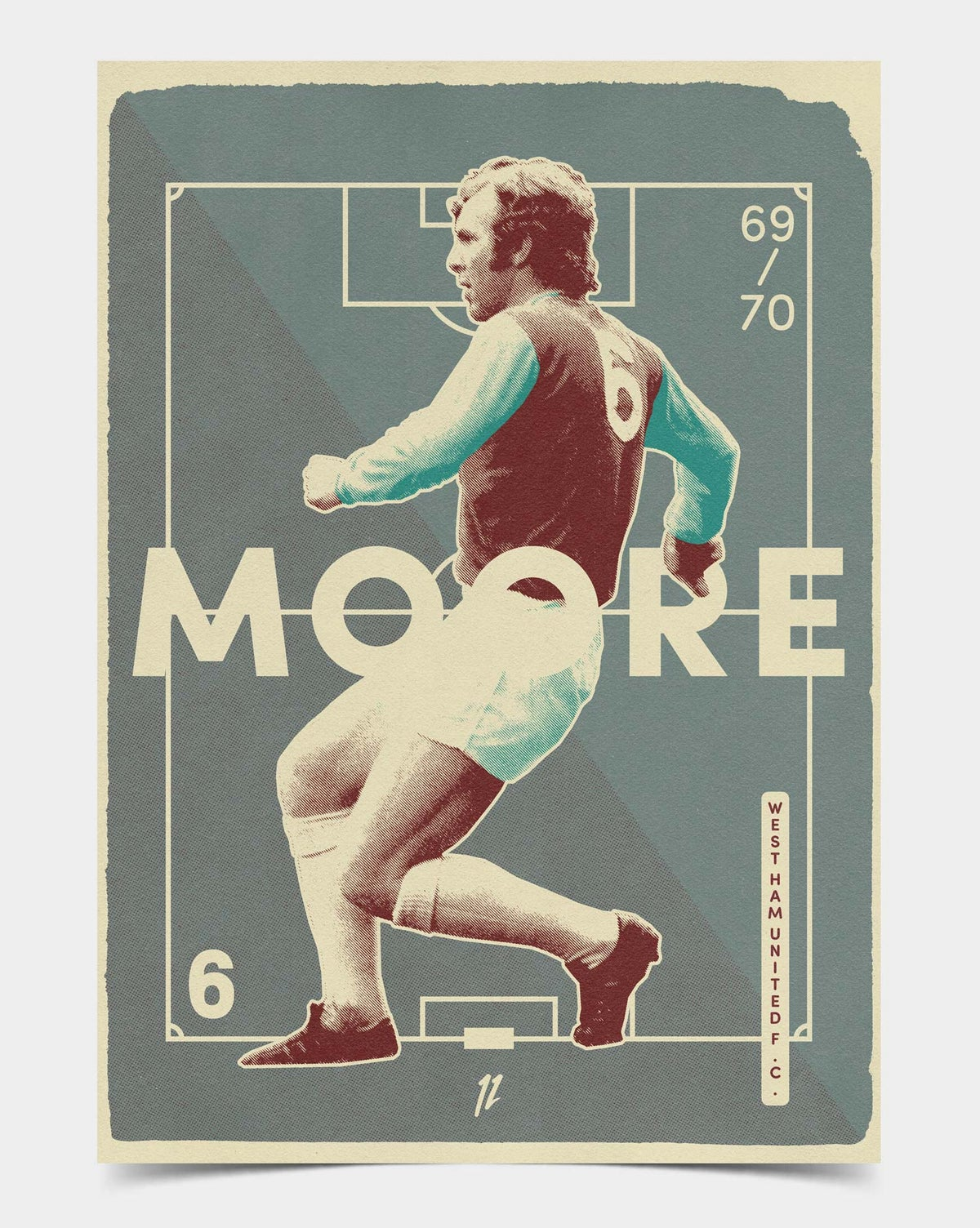 Image of Bobby Moore Retro