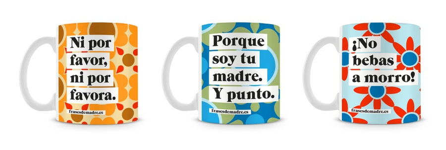 Image of Taza Frases de Madre.