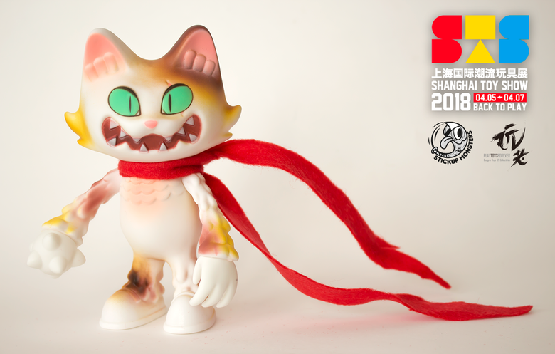 Image of Stickup monsters Wananeko STS ver.