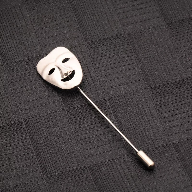 Image of HAPPY FACE BROOCH