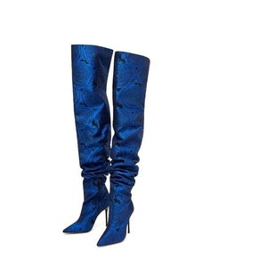 Image of BRAND NEW: Zara Thigh High Boots
