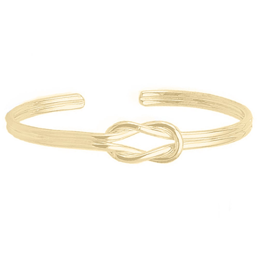 Image of Love Knot Bracelet - Gold