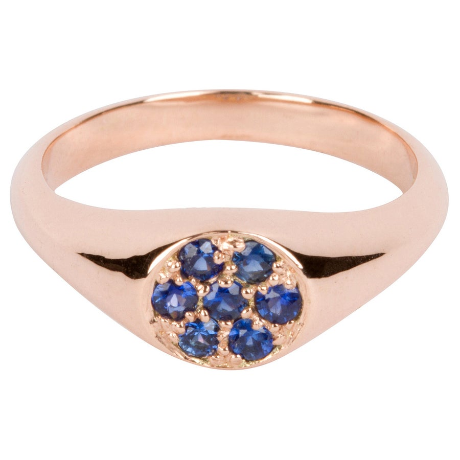 Image of Siren Song Signet (Sapphire)