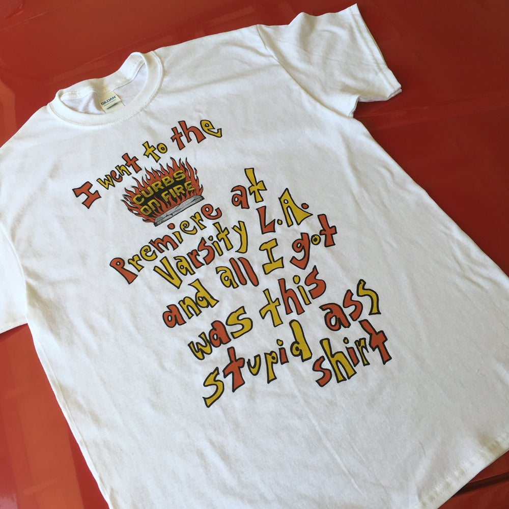 Image of BABY AMY CURBS ON FIRE PREMIERE T SHIRT