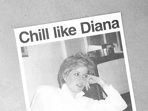 Image of RISOPRINT Chill Like Diana