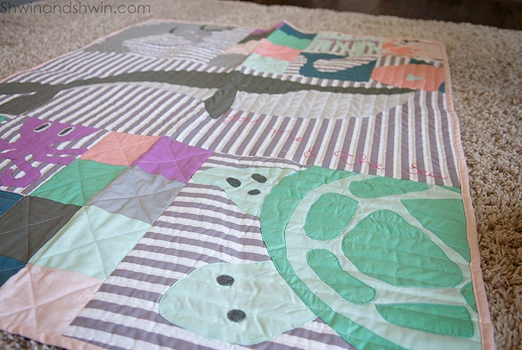 Image of You Me & The Sea Quilt Pattern