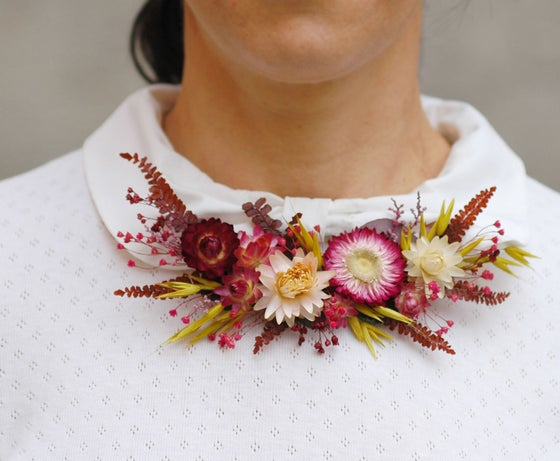 Image of Collar de flores naturales BELIZE