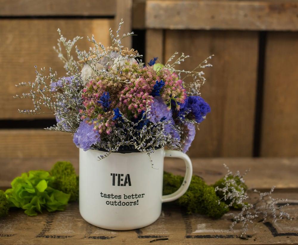 Image of Taza de flores ENGLAND