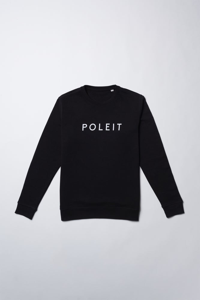 Image of Logo Sweater Women black