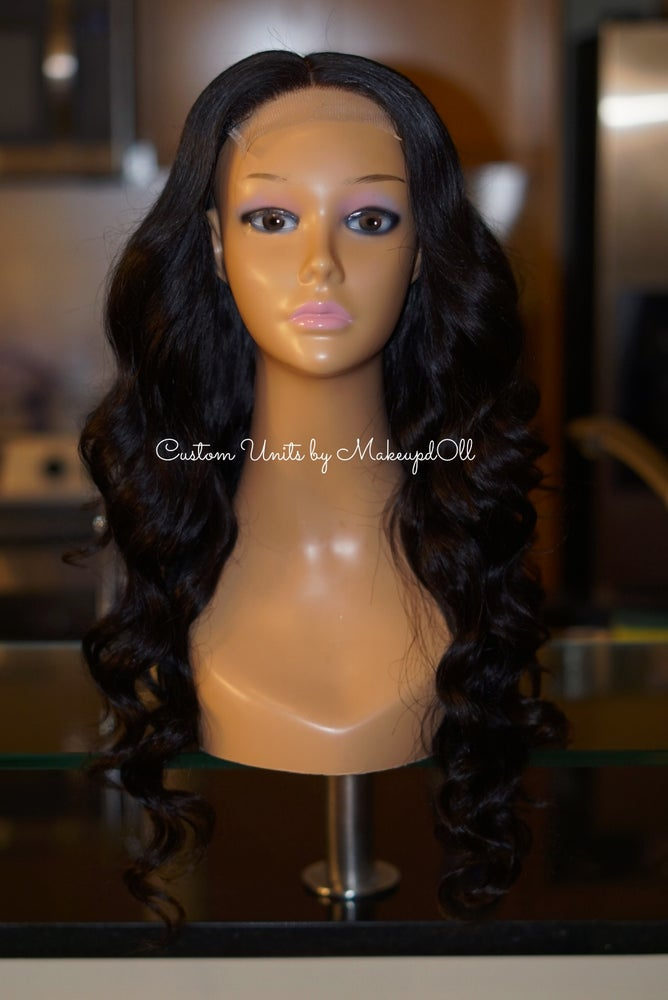 "Image of Brazilian Body Wave 24"" Custom Lace Closure Unit!"