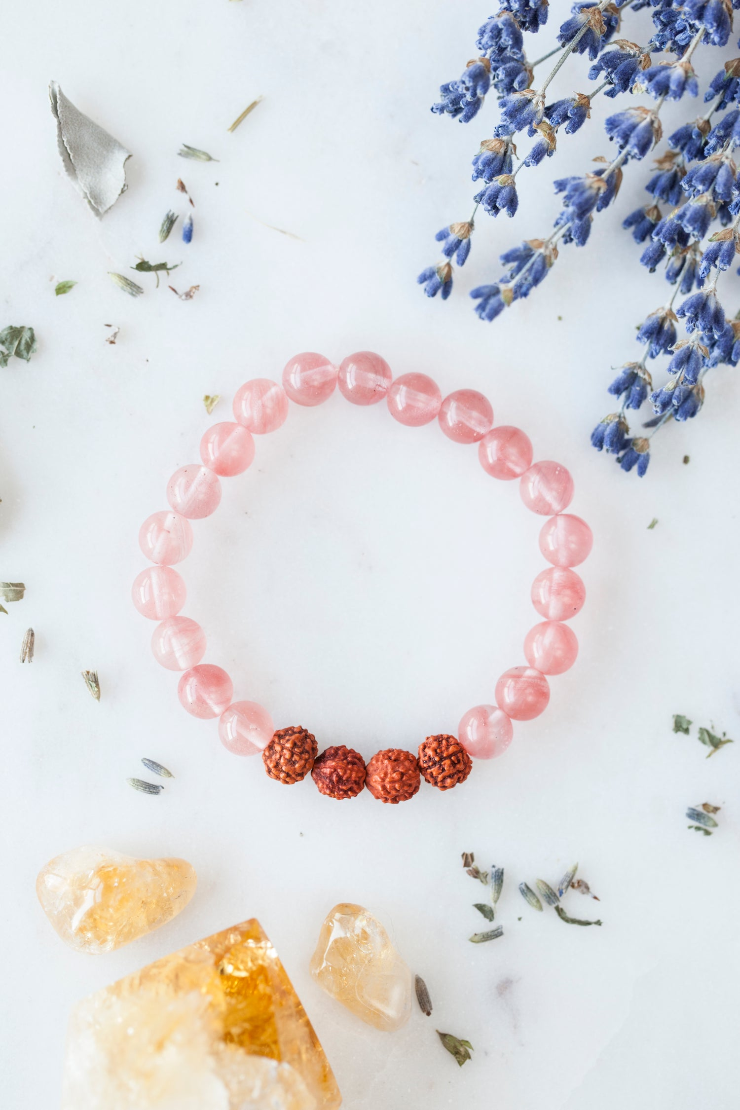 Image of Strawberry Quartz Bracelet