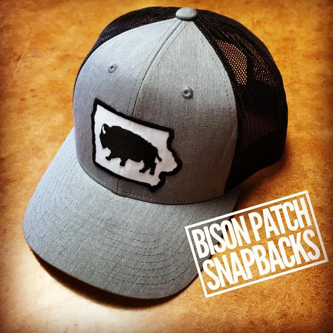 Image of Bison Patch Snap BAck
