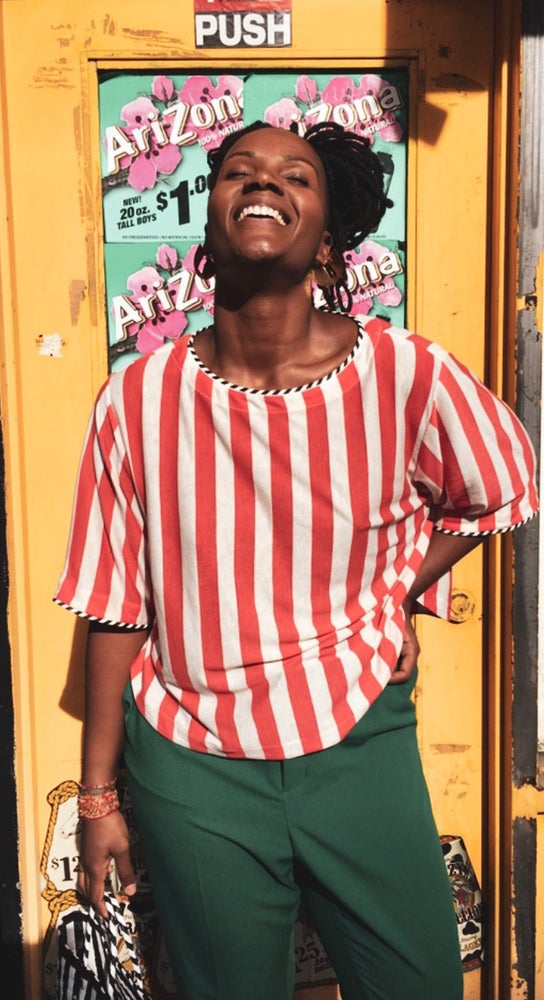 Image of •YiYa• crop top - Circus Stripe