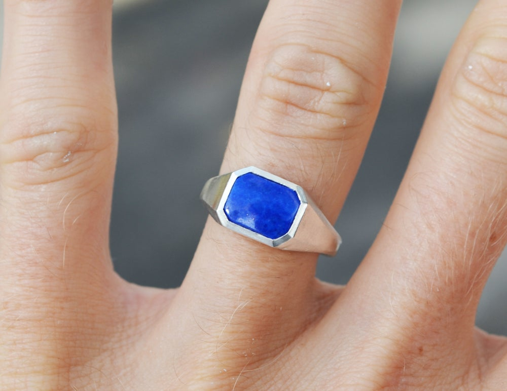Image of Lapis ring
