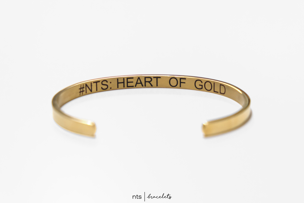 Image of #NTS: HEART OF GOLD <3 (LIMITED EDITION + Gold)