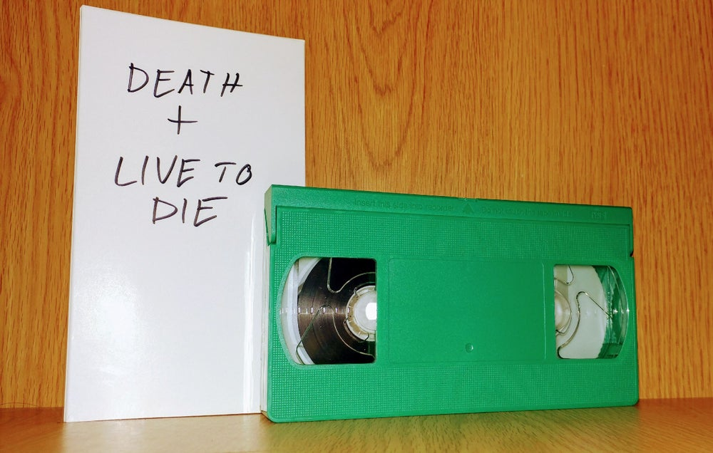Image of Death+ Live To Die VHS Tape