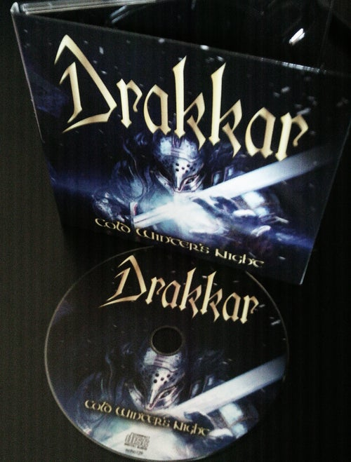 "Image of DRAKKAR ""Cold Winter's Night"" digiMCD"