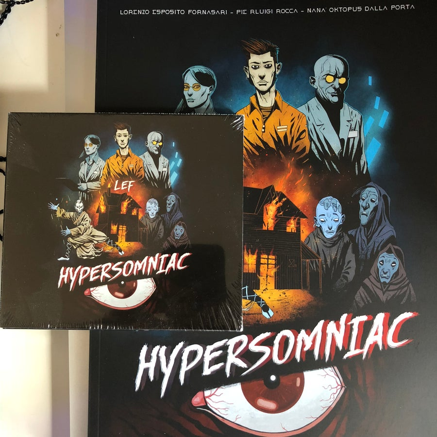 Image of HS COMICS + Cd/Vinyl/digital COMBO