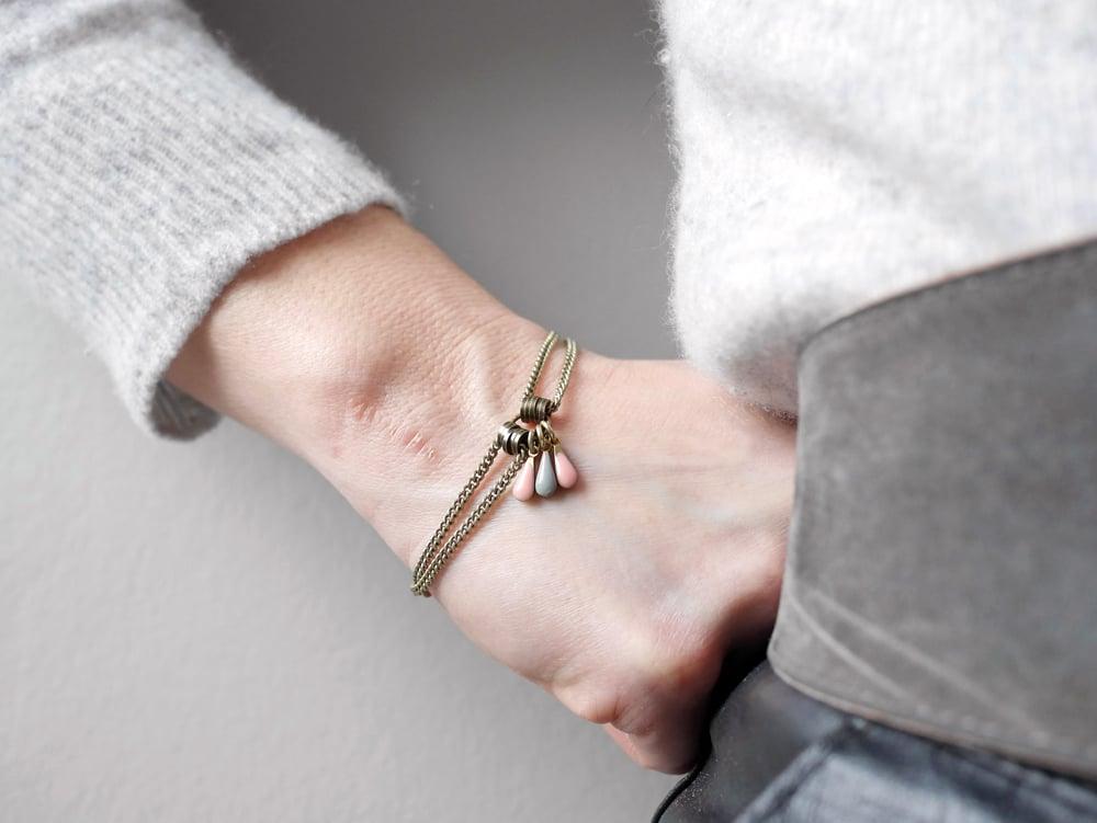 Image of Bracelet Goutte 9 coloris
