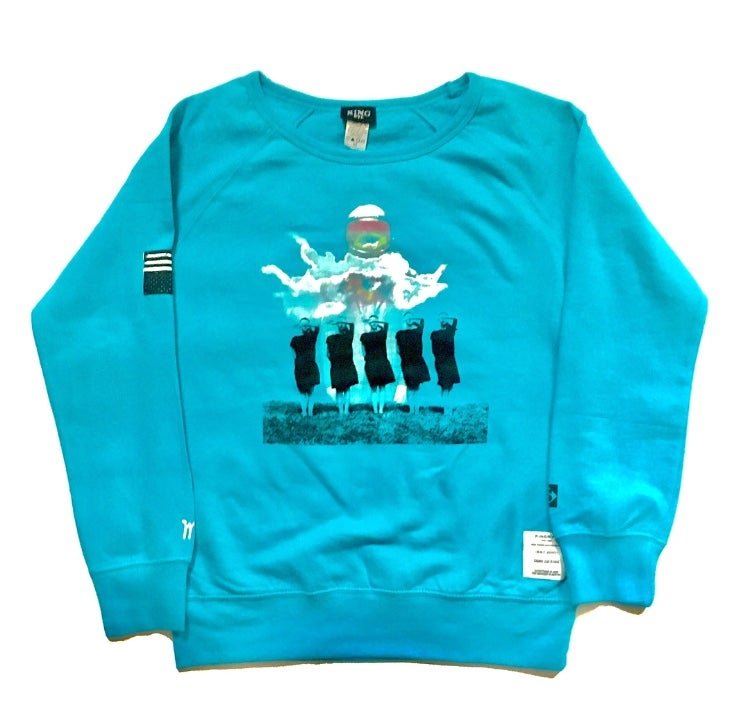Image of KingNYC Women's Separation Crewneck