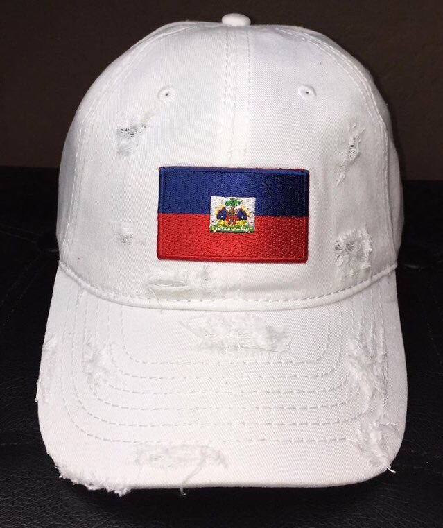Image of Haitian Flag Dad Hat