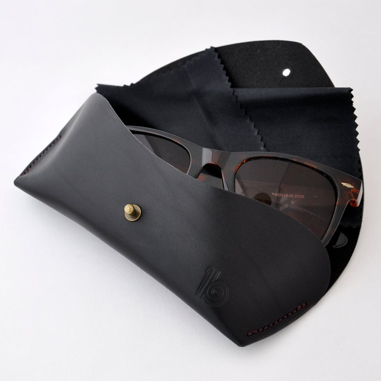 Image of Leather Glasses Case