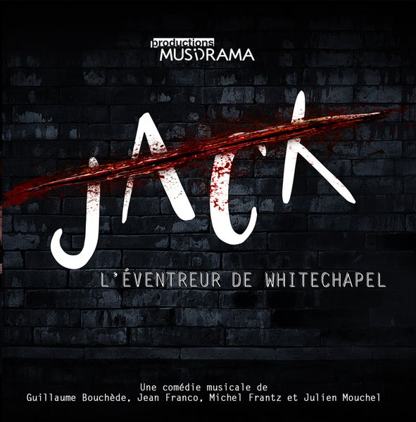 "Image of CD ""Jack, l'éventreur de Whitechapel"""