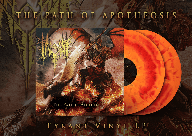 Image of [PREORDER] INFERI - The Path of Apotheosis - Tyrant Gatefold Double LP
