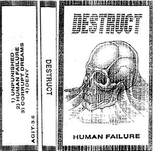 Image of Destruct - Human Failure CS
