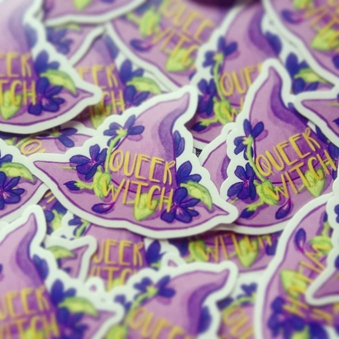 Image of Queer Witch Sticker