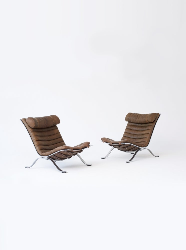 Image of Arne Norell Ari Chairs, 1970s, Sweden