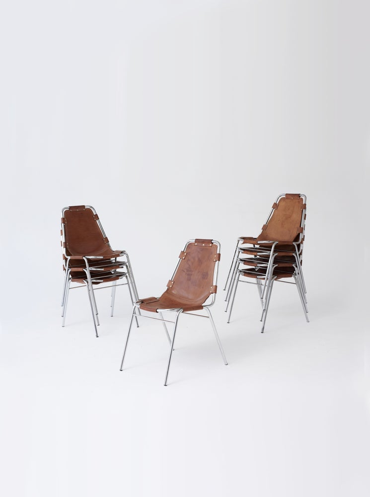 Image of Charlotte Perriand Les Arcs Chairs, 1970s