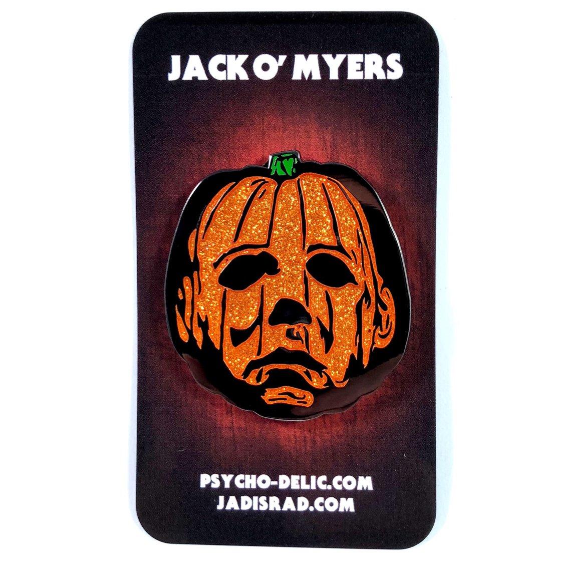 Image of Jack O' Myers Version 3 (Glitter) Pin