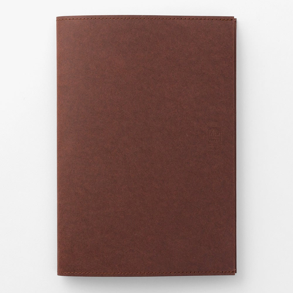 Image of MD Paper 10th Anniversary Limited Edition Dark Brown A5 Notebook Paper Cover