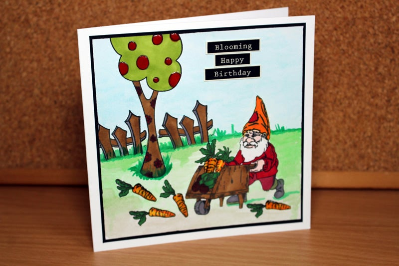 Image of Gnomeing Around: From Farm To Table - Stamp Set
