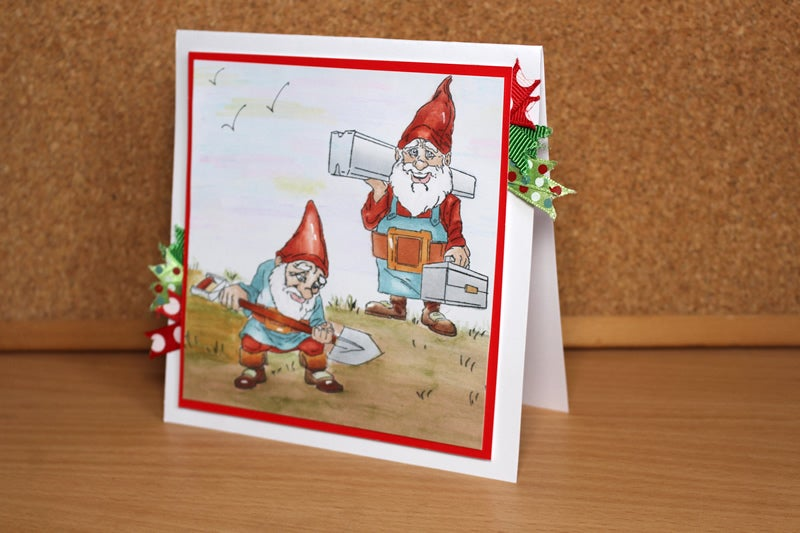 Image of Gnomeing Around: Hard At Work - Stamp Set