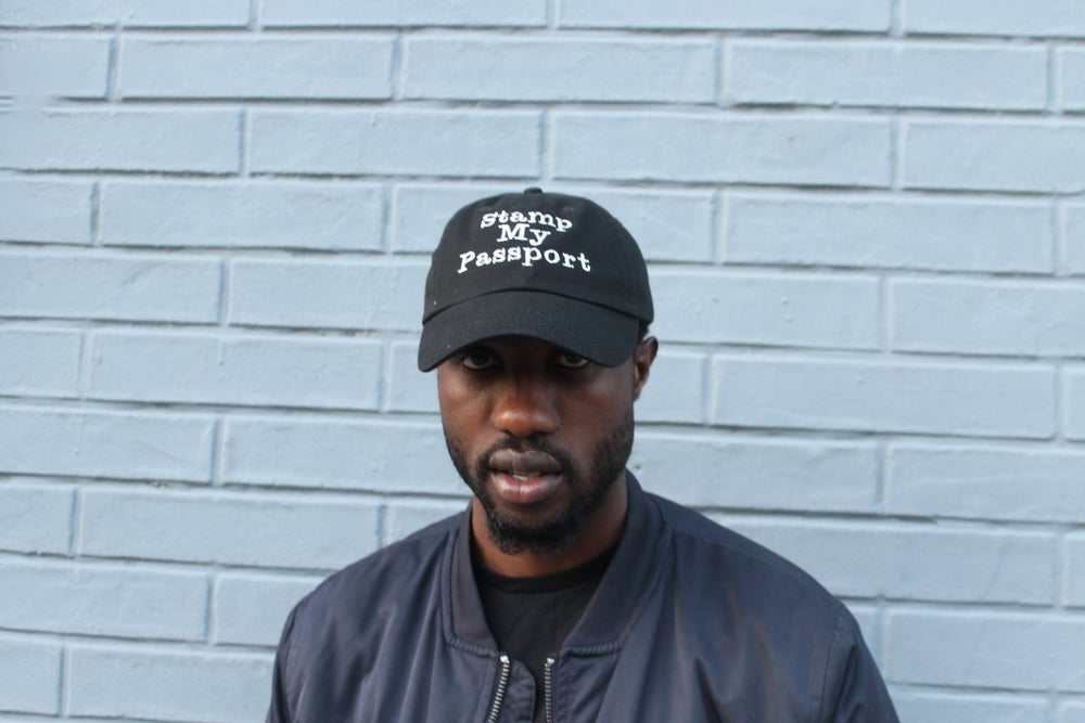 Image of Stamp My Passport Dad Hat