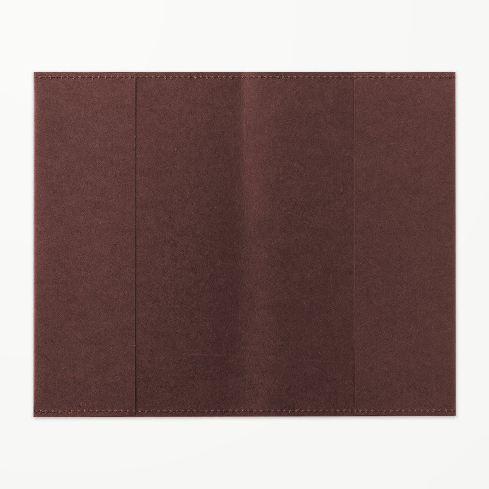 Image of MD Paper 10th Anniversary Limited Edition Dark Brown B6 Slim Notebook Paper Cover