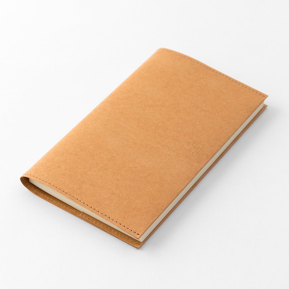 Image of MD Paper 10th Anniversary Limite Edition Brown B6 Slim Notebook Paper Cover