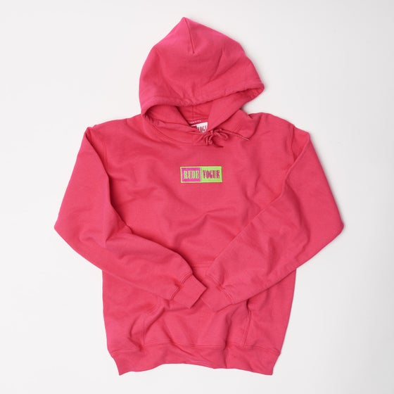 Image of California Pink Warm Up Hoodie