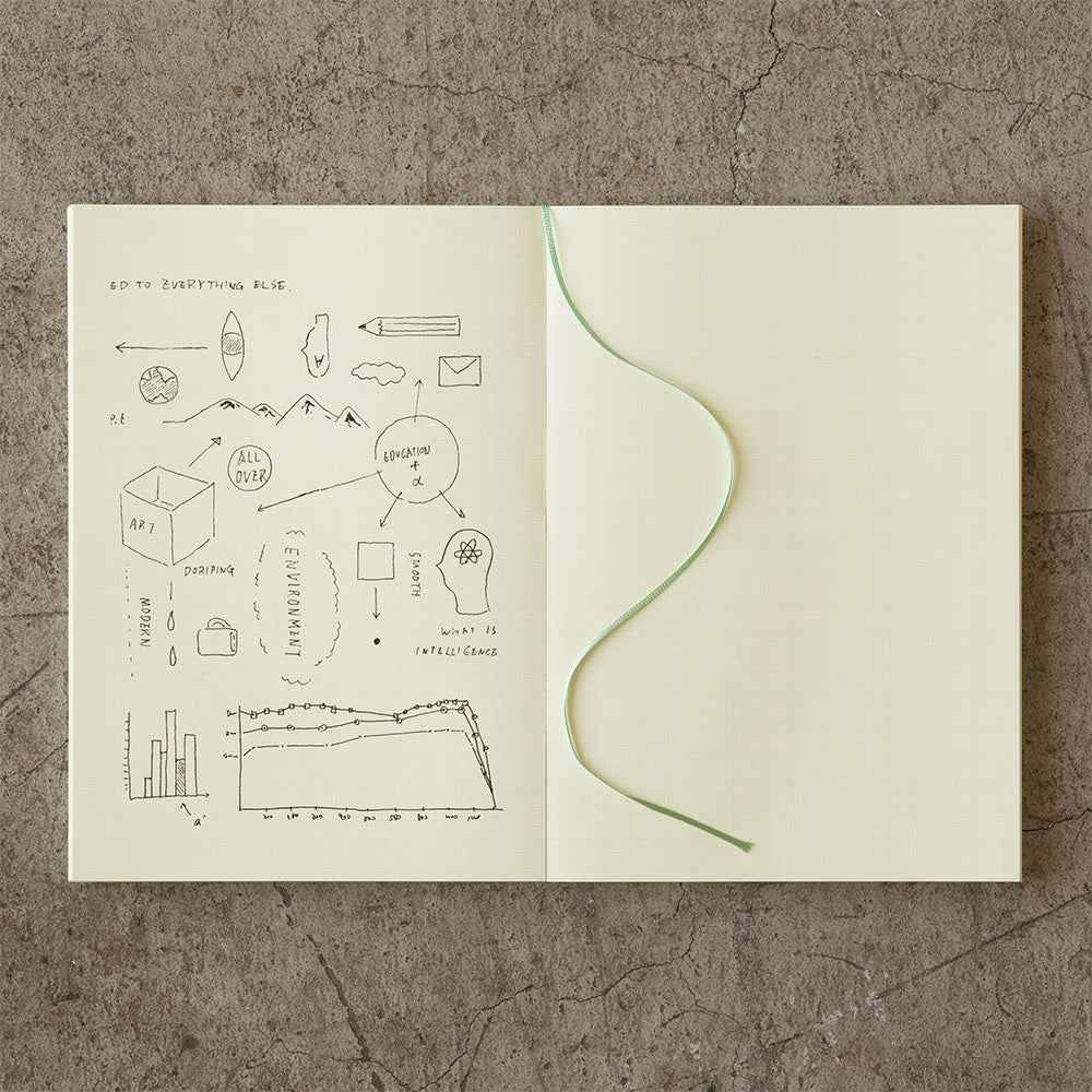 Image of MD Paper 10th Anniversary Limited Edition Graph Paper Notebook