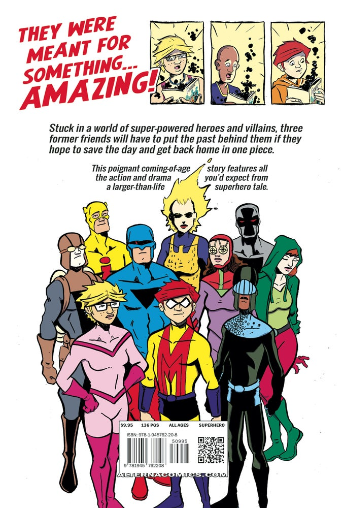 Image of Amazing Age GN
