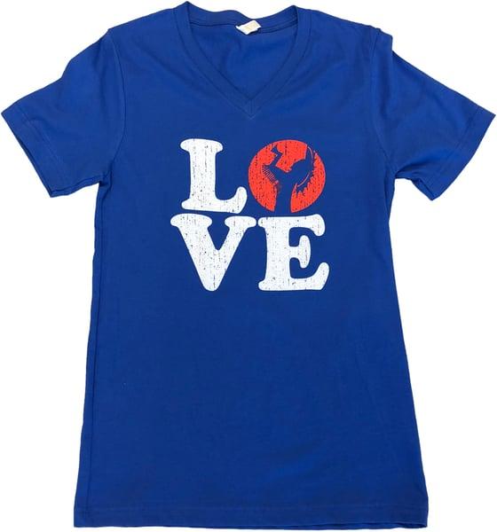 Image of Wichita Love V-Neck T-Shirt
