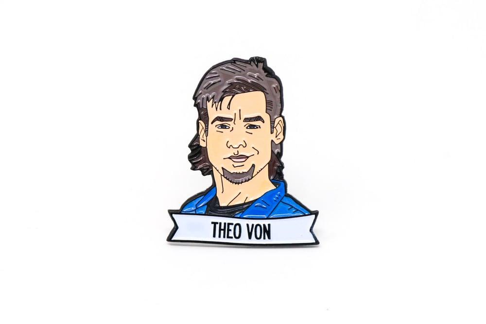 Image of Theo Von Enamel Pin