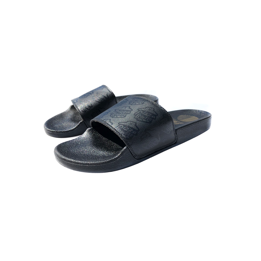 Image of MIDNIGHT SLIDES™ X PIZZABOYZZZ™ SLIDES SANDALS